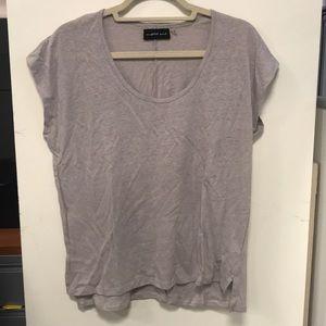 Mustard Seed Grey Tee Shirt Size Medium
